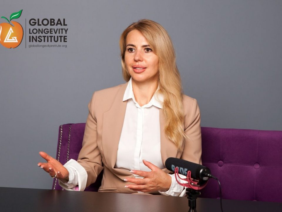 An Interview With CEO Global Longevity Elina Manzhalii