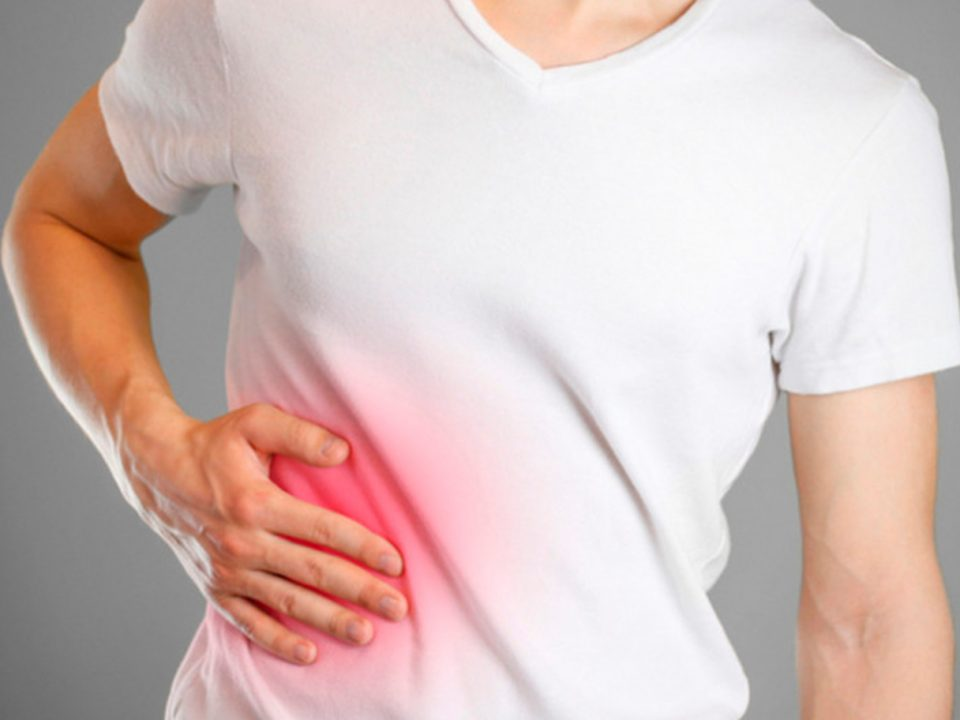 Increasing efficacy of treatment in patients with steatohepatitis and concomitant chronic colitis
